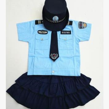 boys police costume child police costume party police costume military police costume for children military clothing