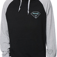 Diamond Supply Co Certified Lifer Black Hooded Shirt