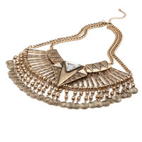 Pendant Bib Necklace