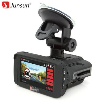 Junsun Ambarella 3 in 1 Radar GPS DVR Dash Camera
