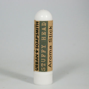 Aromatherapy Inhalers- Stuffy Head Aroma Stick - Natural Congestion Relief