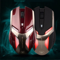 Professional 2.4g wireless Gaming mouse Hi Quality Blue Backlight Skull Fairy kl-2013A Metal Finish Game Mouse = 1753644804