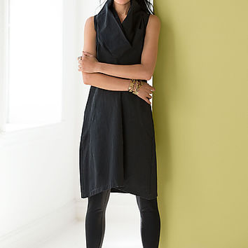 Cosmos Cowl Neck Dress by Karen Klein (Woven Dress) | Artful Home