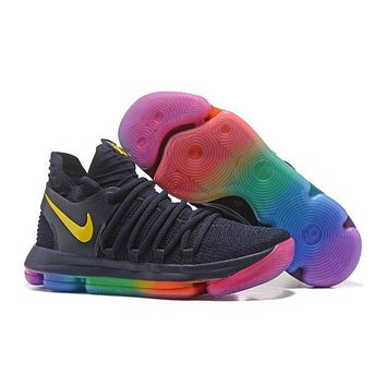 Nike Zoom Kevin Durant 10 Sneaker Men Basketball KD Sports Shoes 001