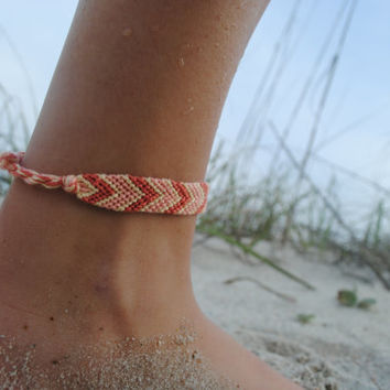 sale anklet no natural cotton dp bracelet beads string sea ankle bracelets for surfer color braided