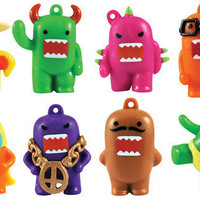 8 DOMO KUN Charms Neon beads for kandi raver by KandyLand on Etsy