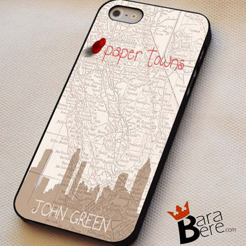 John Green Paper Towns iPhone 4s iphone 5 iphone 5s iphone 6 case, Samsung s3 samsung s4 samsung s5 note 3 note 4 case, iPod 4 5 Case
