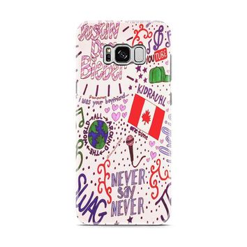 Justin Bieber Collage Art Samsung Galaxy S8 | Galaxy S8 Plus case