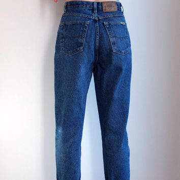 High Waisted 90's Jeans  Authentic Jeans Original Perfect Fit Size 27 - 28