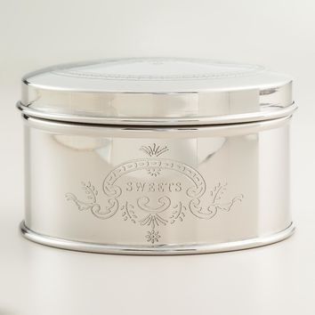 Stainless Steel Sweets Tin