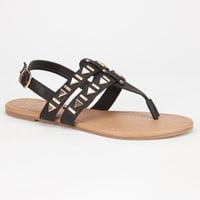 Celebrity Nyc Cleo Womens Sandals Black  In Sizes