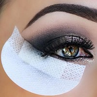 20pcs Beauty Makeup Tool Eye Shadow Painting Auxiliary Tool Makeup Stickers