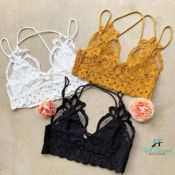 The Sophia Lace Bralette