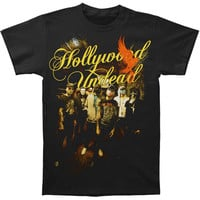 Hollywood Undead Men's  Orange Bird T-shirt Black Rockabilia