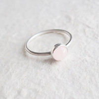 Rose Quartz Ring - ON SALE limited time offer