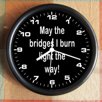 MAY The BRIDGES I BURN Light the way unusual by Backstreetcrafts