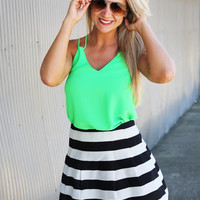 Different Direction Skirt
