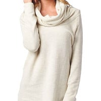 White Turtleneck Tunic