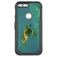 Turtle Swimming Underwater OtterBox Commuter Google Pixel XL Case