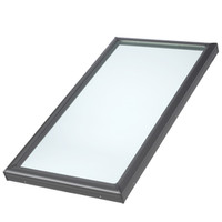 Shop VELUX Fixed Tempered Skylight (Fits Rough Opening: 22.5-in x 46.5-in; Actual: 27.375-in x 51.375-in) at Lowe's