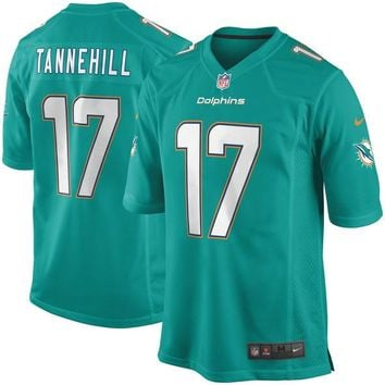 Youth Miami Dolphins Ryan Tannehill Nike Aqua Home Game Jersey