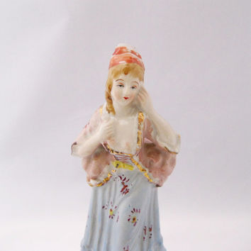 Occupied Japan Women's Figurine Victorian - FL