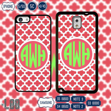 USA Monogram @ Samsung Galaxy S5 case , Samsung S4 cover , Galaxy S3 , Samsung Note 3 Note 2 , IPhone 5S , iPhone 5 , 5C , IPhone 4 4S L88