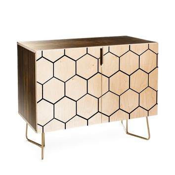Allyson Johnson Honey Comb Credenza