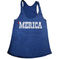 Womens Merica Tank. fourth of july merica Shirt. fourth of july Tank Top. Fourth of July shirt. patriotic tank. patriotic shirt