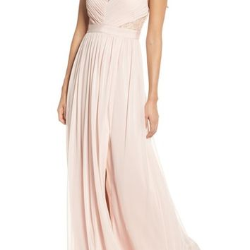 Adrianna Papell Lace & Tulle Gown | Nordstrom