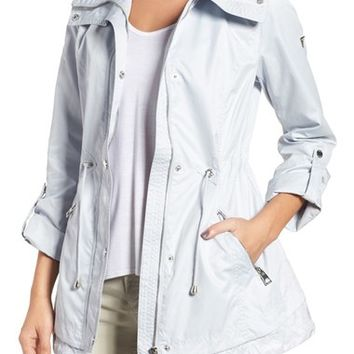 GUESS City Roll Sleeve Anorak | Nordstrom