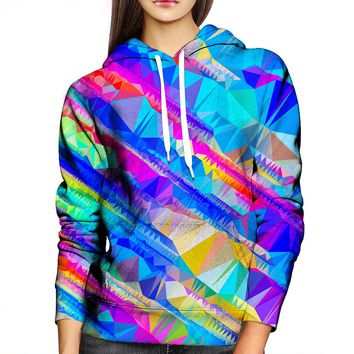 Bright Shapes Womens Hoodie