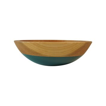 "7"" Cherry Wood Bowl (9 color options)"