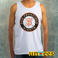 San Francisco Giants Logo Clothing Tank Top For Mens