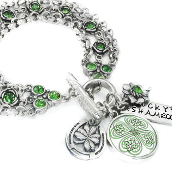 Lucky Celtic Bracelet