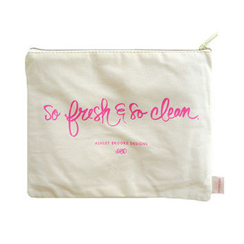 So Fresh and So Clean Cosmetic Bag