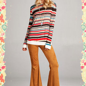 Hey Groovy Girl Top (red)