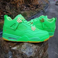"Air Jordan  4 Retro ""Apple Green"""
