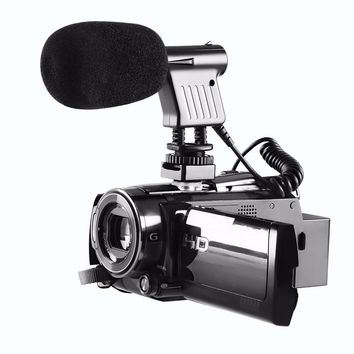 BOYA 3.5mm Video Broadcast Directional Condenser Microphone For Nikon For Canon For Sony Recording DSLR Cameras