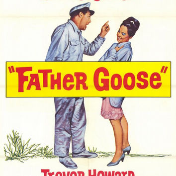 Father Goose 11x17 Movie Poster (1965)