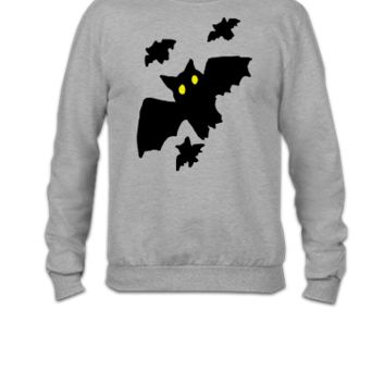 Bat - Bats - Halloween - Copy - Crewneck Sweatshirt