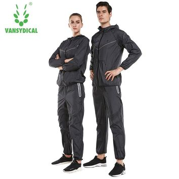 Vansydical Lose Weight Slimming Lovers Sportswear Body Building Fitness Hat Sauna Clothes Lose Weight Keep Slimming Workout Hood