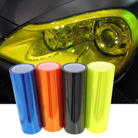 car styling 12 Colors 30x100cm Auto Car Light Headlight Taillight Tint Vinyl Film Lamp Brake Light Accessories