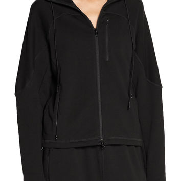 Ionize cotton-terry hooded top | Theory+ | US | THE OUTNET