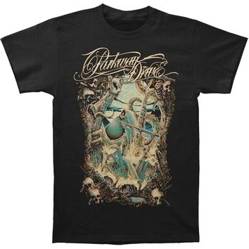 Parkway Drive Men's  Kraken T-shirt Black
