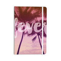 "Catherine McDonald ""Fever"" Pink Red Everything Notebook"