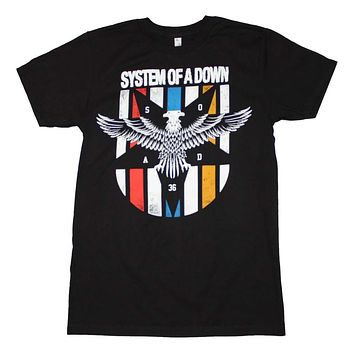 System of a Down Eagle Colors T-Shirt X-Large