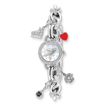 Ladies NHL Columbus Blue Jackets Charm Watch