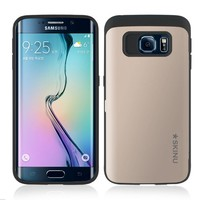 SKINU Eureka Kickstand Bumper Case for Galaxy S6 Edge