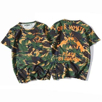 Men's Fashion Summer Camouflage T-shirts [10597761927]